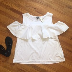 NWT Lane Bryant Women's Off The Shoulder Tee (Q5)